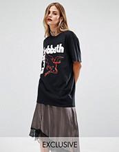 Reclaimed Vintage Halloween Black Sabbath Print Band T-Shirt