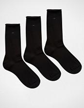 Calvin Klein Roll Top 3 Pack Socks