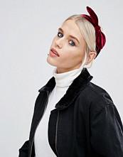 ASOS Velvet Bow Headband