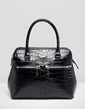 Modalu Leather Mock Croc Mix Pippa Tote Bag