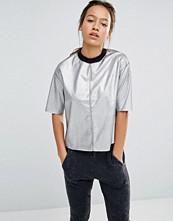 Converse Silver Metallic T-Shirt