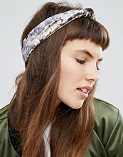 ASOS Rose Print Knot Turban Headband