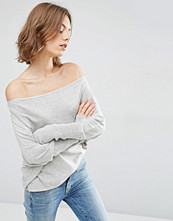 ASOS Lounge Jumper in Asymmetric Shape with a Touch of Cashmere