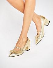 ASOS SWEET TREAT Ruffle Pointed Heels