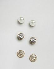 Pieces Diana Multipack Stud Earrings