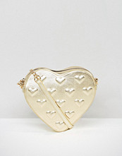 ASOS Embossed Heart Cross Body Bag