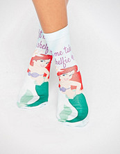 ASOS Disney Little Mermaid Let Me Take A Shelfie Socks