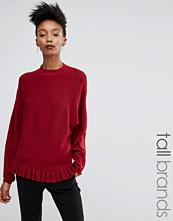 Y.A.S Tall Popa Frill Hem Knitted Jumper