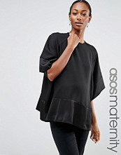 ASOS Maternity Matte and Shine Oversized Tee