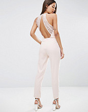 ASOS Jumpsuit with Lace back Detail
