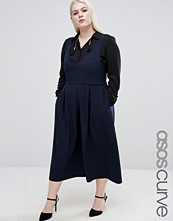 ASOS Curve Pinafore with Scoop Neck