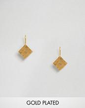 Ottoman Hands Signs & Symbols Diamond Shape Earrings