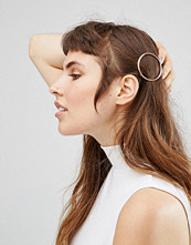 Johnny Loves Rosie Rose Gold Circle Hair Clip