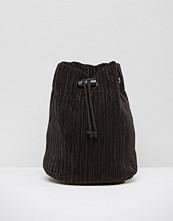 Monki Pleated Backpack