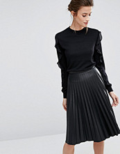 Warehouse Long Sleeve Jumper with Frill Sleeves