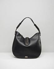 Faith Simple Hobo Bag With Chain Detail