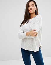 Boohoo Cable Rib Knit Jumper