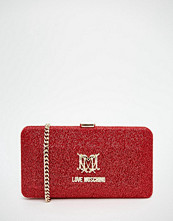 Love Moschino Glitter Box Clutch