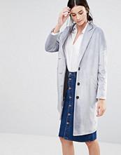 Helene Berman Ema Coat in Textured Grey