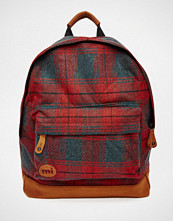 Mi-pac Plaid Red Backpack