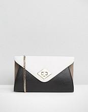 Dune Colourblock Envelope Clutch Bag