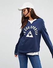 Le Coq Sportif Premium Retro Long Sleeve T-shirt
