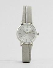 ASOS Sleek Mini Grey Croc Strap Watch