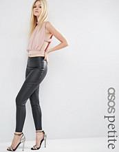 ASOS Petite Ultimate Leather Look Treggings
