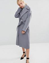 Helene Berman Clutch Coat In Grey