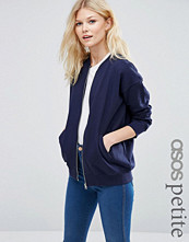 ASOS Petite The Ultimate Bomber Jacket in Jersey