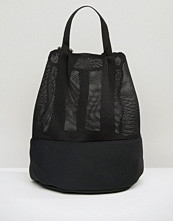 ASOS LIFESTYLE Mesh and Scuba Backpack