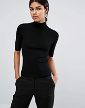 Oasis Rib Top With Turtleneck