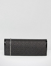 Lotus Clutch Bag With Mesh Detail