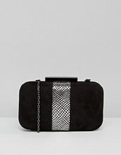 Lotus Box Clutch Bag