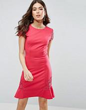 Little Mistress Lace Sleeve Trim Dress