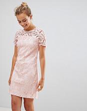 Little Mistress Short Sleeve Shift Dress