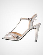 Buffalo Sandaler med høye hæler metallic pewter
