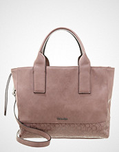 Calvin Klein MADDIE Shopping bag purple