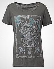 Replay Tshirts med print washed black