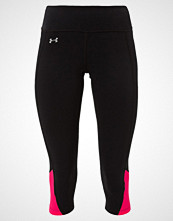 Under Armour FLY BY 2.0 3/4 sports trousers black/pink/reflective