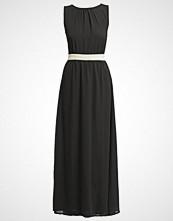 Compañía fantástica TILOS Fotsid kjole negro