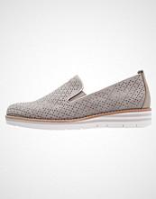Gabor Slippers grau/weiß