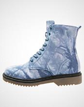 ONLY SHOES ONLBRIT Snørestøvletter blue/white