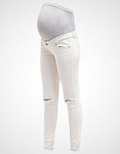 Mamalicious MLSIGGA  Slim fit jeans antique white