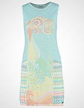 KOOI Strikket kjole turquoise