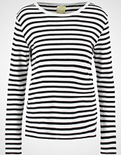 Line Of Oslo Topper langermet black/white