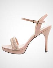 Menbur CALENDUL Sandaler med høye hæler nude