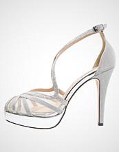 Menbur ROSA Høye hæler med åpen front silver