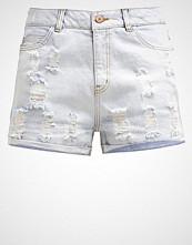 Noisy May NMHARPER  Denim shorts light blue denim