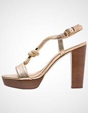 Michael Kors HOLLY Sandaler med høye hæler pale gold